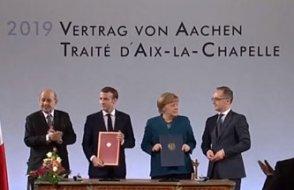 Merkel ve Macron'dan çok önemli imza: Avrupa Ordusu'nun temeli atılıyor