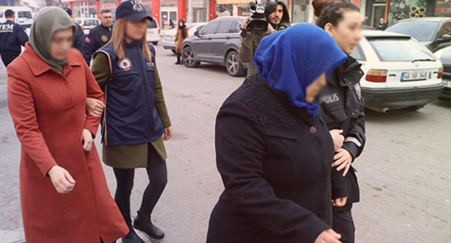 Ev kadını, öğretmen, Kur'an öğreticisi... 39 kadına gözaltı