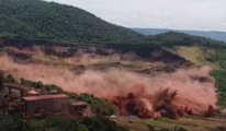 110 kişinin öldüğü baraj faciasının görüntüleri çıktı