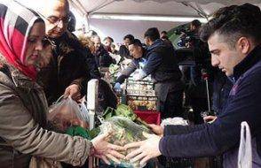 AKP kendine ücretsiz verilen 36 bin 526 kilo sebze-meyve tanzimde satmış