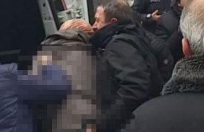 Başörtülü öğrenciye polis tacizi kameraya yakalandı