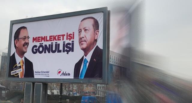 Erdoğan CHP'yi hedef aldı, kendi partisini unuttu: AKP'li adaylar niye logo kullanmıyor?