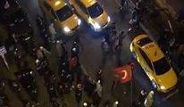 Erdoğan'ın 'ezan' sözlerinden sonra sokağa çıkanlara polis müdahale etti