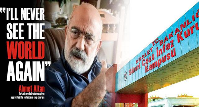 Ahmet Altan'ın kitabı Amazon'da en iyi 20 kitaptan biri seçildi