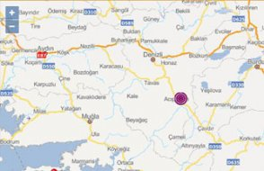 FLAŞ... Denizli'de 5.6'lık deprem