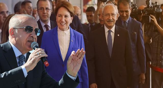 Erdoğan,  Akşener ve Kılıçdaroğlu'nu 'Yargı ile' tehdit etti....