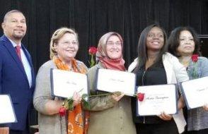 New York Eyalet Meclisi'nden yazar Emine Eroğlu'na ödül