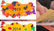 Yerel seçimlerde haritanın rengi değişti: İşte el değiştiren şehirler
