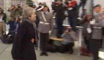Merkel, Berlin'de May'i karşılamadı