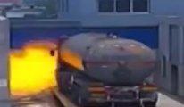 Tankerden sızan gaz faciaya sebep oldu