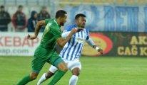 Büyükşehir Belediye Erzurumspor-Akhisarspor maçında 3 gol vardı