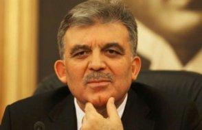 Abdullah Gül'den açıklama