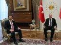 Ekrem İmamoğlu, Cumhurbaşkanı Erdoğan'ı karşıladı