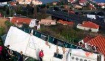 Almanya'da yas var... Alman turistleri taşıyan otobüs kaza yaptı: 29 ölü