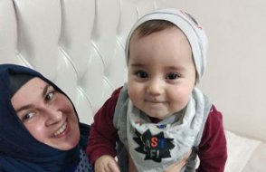 Ömer Asaf 8 aylık bir bebek ve o da hapiste!