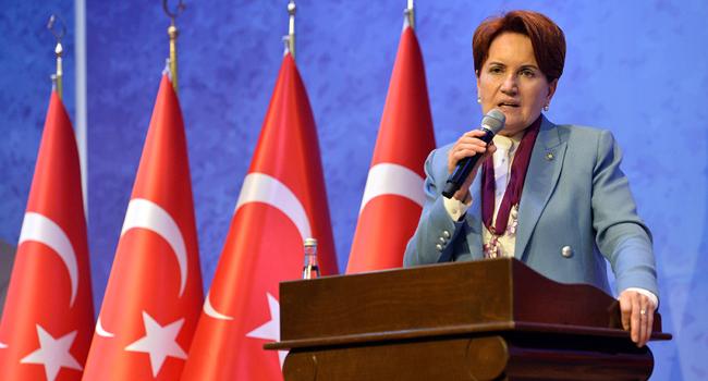 Akşener: Erdoğan'ın hiç B planı yokmuş