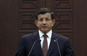 Ahmet Davutoğlu'ndan çarpıcı açıklama