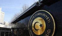 Dışişleri Bakanlığı, AB'nin Türk şirketine uyguladığı Libya yaptırımını eleştirdi