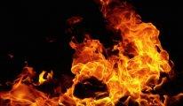 Hasta yakını doktorun odasını yaktı