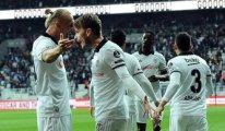 Beşiktaş- Aytemiz Alanyaspor maçında 3 gol vardı