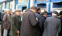 Emekliler hükümete isyan etti