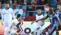 Trabzonspor, Beşiktaş'ı devirdi: 2-1