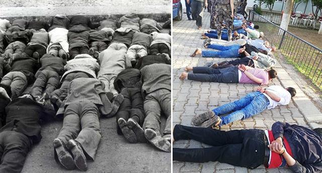AKP 12 Eylül darbecileri gibi: Vatandaşları ters kelepçeyle yüzüstü yatırıp gözaltına alarak eziyet ettiler