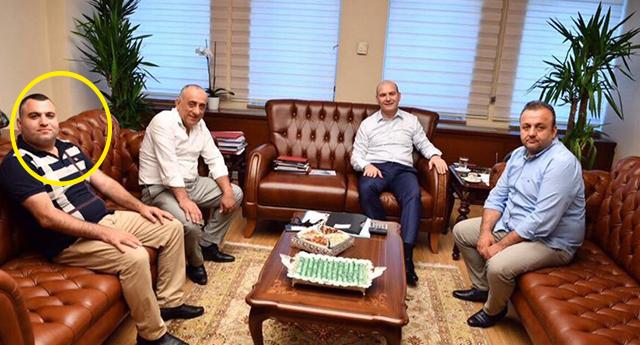 Uyuşturucudan tutuklanan AKP'linin Süleyman Soylu ile fotoğrafları ortaya çıktı