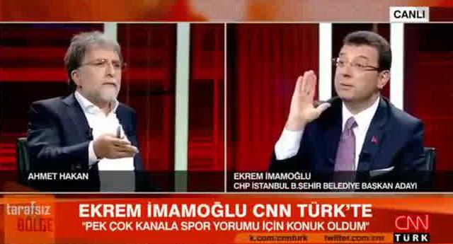 CNN Türk'teki yayın krizi : Emin Çapa: İmamoğlu yayını bitsin diye reji telefonla arandı