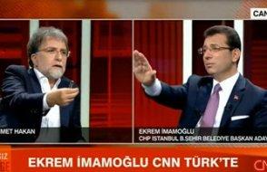İmamoğlu, Ahmet Hakan'ın yayınıyla ilgili konuştu: O kişiyi savunursanız bir dakika derim