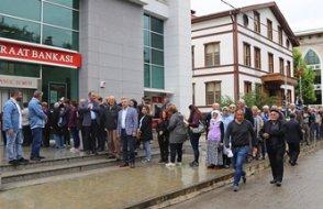 Yüzlerce vatandaş İmamoğlu için sıraya girdi