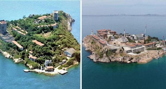 Yassıada artık rant adası!