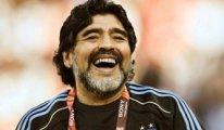 Diego Maradona'nın cenazesinde arbede çıktı