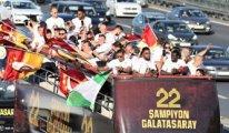 Galatasaray'da 22'nci şampiyonluk coşkusu
