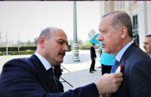 Soylu, Erdoğan'ın peşinden böyle koştu