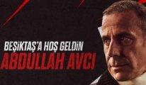 Beşiktaş, Abdullah Avcı'yı böyle duyurdu