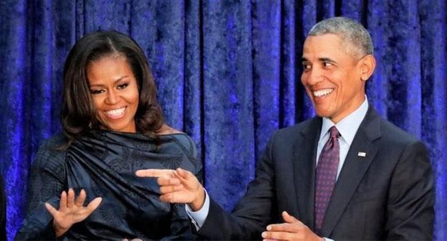 Obama çiftinin tatlı telaşı