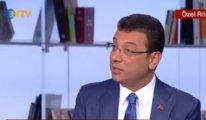 İmamoğlu'nun NTV yayınındaki cevabı gündem oldu