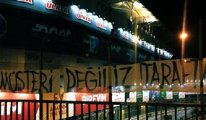 Fenerbahçe'de kombine isyanı: Slogan yazdılar...