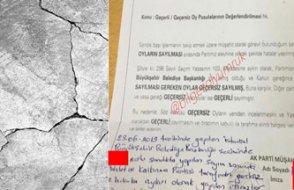AKP'nin itiraza hazırlandığı ortaya çıktı