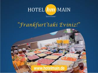Hotel Main... Frankfurt'taki eviniz