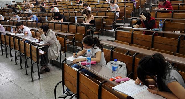 Üniversiteye giriş sınavında dikkati çeken sonuçlar...