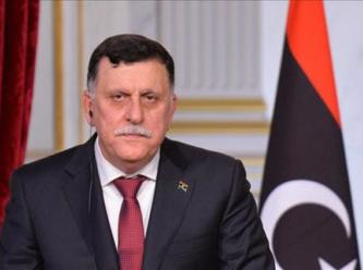 Libya Ulusal Mutabakat Hükümeti lideri Serrac Dolmabahçe'de