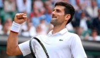Wimbledon'da tarihi maç: Djokovic kazandı