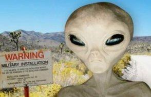 1,4 milyon kişi uzaylıları görmek için askeri üssü basacak!