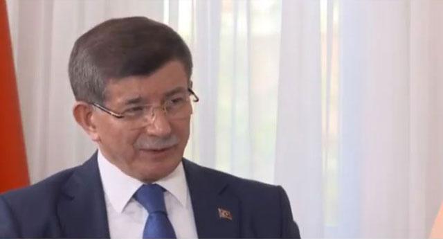 Davutoğlu, Erdoğan ve Albayrak'ı işaret etti, 'organize işler' dedi
