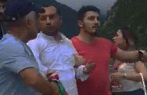 Kürdistan atkısı takan Iraklı turistler Trabzon'da linç edildi, polis gözaltına alıp sınır dışı etti