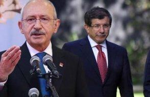 Davutoğlu-Kılıçdaroğlu anlaştı iddiası