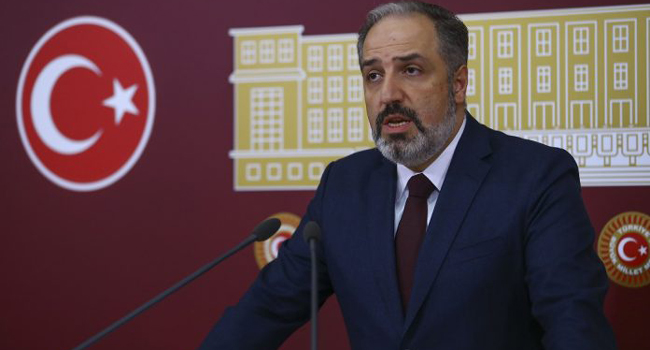30 Ekim'de AKP'den istifa etmişti