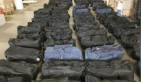 Hamburg'da 1 milyar Euro değerinde kokain ele geçirildi